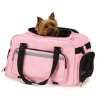 On-The-Go Carry-On Bag Pink Dog Carrier