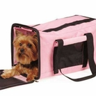 On-The-Go Duffle Bag Pink Pet Carrier