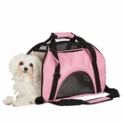 On the Go Pink Dog Carrier