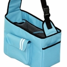 Over-the-Shoulder Blue Dog Carrier