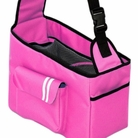 Over the Shoulder Pink Dog Carrier