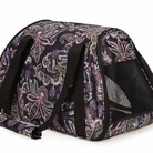 Paisley Stowaway Pet Carrier