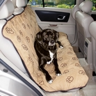 Paw Print Dog Car Seat Cover