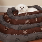 Paw Print Dog Crate Mat
