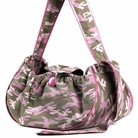 Pink Camo Sling Dog Carrier