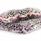 Pink Cheetah Dog Blanket & Pillow