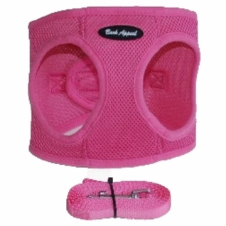 Pink Mesh EZ Wrap Non-Choking Dog Harness by Bark Appeal