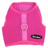 Pink Mesh Wrap N Go Velcro Harness by Bark Appeal