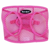 Pink Netted EZ Wrap Non-Choking Dog Harness by Bark Appeal