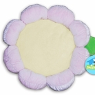 Pink Plush Flower Dog Bed