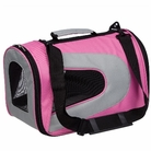 Pink Sporty Mesh Pet Carrier