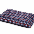 Plaid Fleece Pet Bed