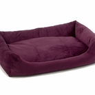Plum Purple Bumper Dog Bed