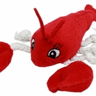 Plush Lobster Dog Toy