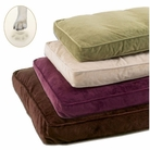 Plush Ortho-Bliss Memory Foam Dog Bed