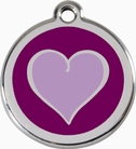 Purple Heart * Dog ID Tag