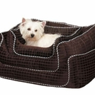 Quilted Square Nesting Dog Bed