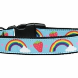 Rainbows & Berries Dog Collars & Leashes