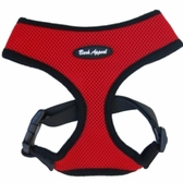 Red Breathe EZ Mesh Dog Harness by Bark Appeal