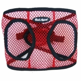 Red Netted EZ Wrap Non-Choking Dog Harness by Bark Appeal