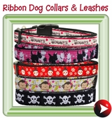 - ribbon collars & leashes