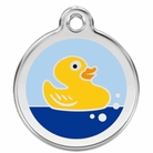 Rubber Duckie * Dog ID Tag