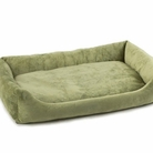 Sage Green Bumper Dog Bed