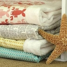 Seaside Tails Collection Dog Blankets