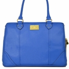 Signature Tote Dog Carrier Bag - Azul