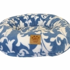 SnooZZy Donut Blue Spa Print Pet Bed