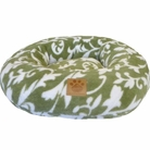 Snoozzy Donut Green Spa Print Pet Bed