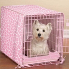 Sweet Safari Pink Crate Cover and Bed Set