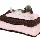 Swirl Plush Dog Bed