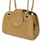 Tan Open Tote Pet Carrier