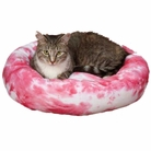 Tie Dye Pink Pet Bed