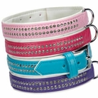 Trendy Sparkle Gemstone Dog Collars & Leashes