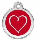 Tribal Heart * Dog ID Tag