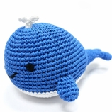 Whale Handmade Cotton Dog Toy