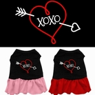"""XOXO"" Dog Dress"