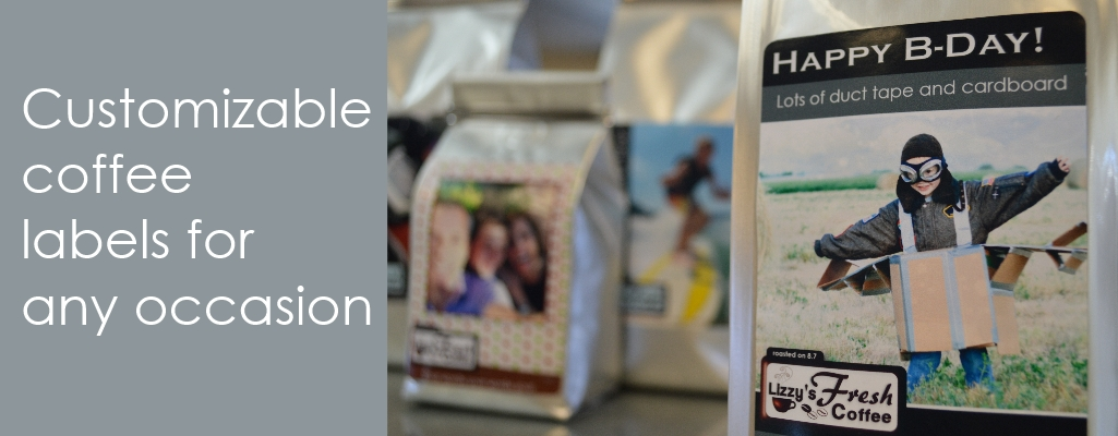 Customizable Coffee Labels