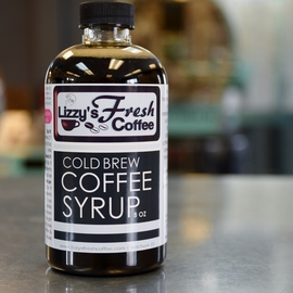 LIZZY'S COLD BREW COFFEE SYRUP 8 OZ