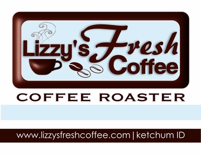 LIZZY'S FRESH COFFEE STICKER