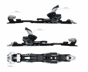 4FRNT Adrenalin alpine touring binding