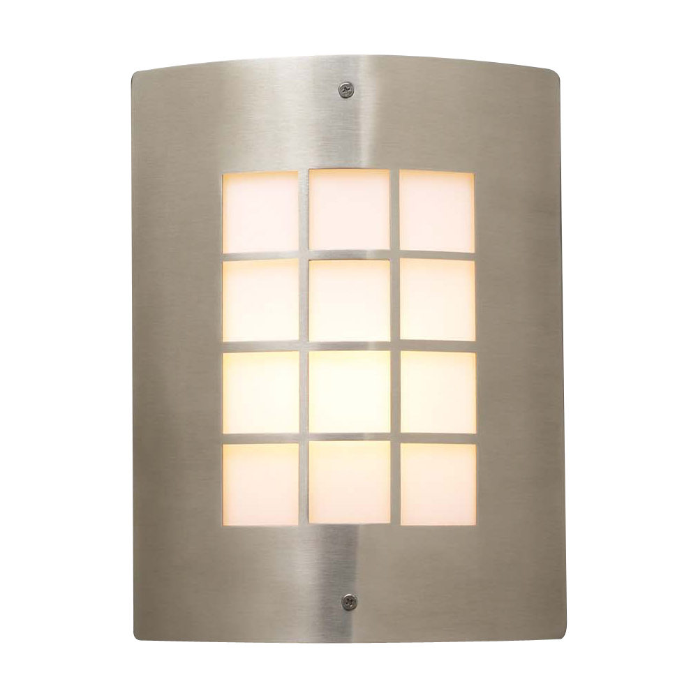 1 Light Outdoor Fixture Turin Collection Shown In Satin