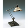 1 Light Pueblo Tiffany Task Lamp shown in Medici Bronze by Quoizel Lighting - TF7110Z