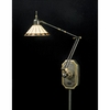 1 Light Tiffany Swing Arm Fixture shown in Medici Bronze by Quoizel Lighting - TF8156Z