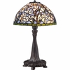 1 Light Wildflower Tiffany Table Lamp shown in Imperial Bronze by Quoizel Lighting - TF1607TIB