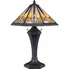 2 Light Hogan Tiffany Table Lamp by Quoizel Lighting - TF1610T