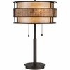 2 Light Laguna Table Lamp shown in Renaissance Copper by Quoizel Lighting - MC842TRC