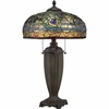 2 Light Lynch Tiffany Table Lamp by Quoizel Lighting - TF1487T